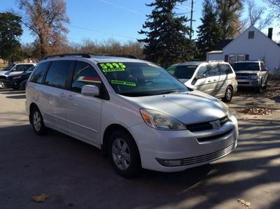 2004 Toyota Sienna XLE Limited for sale VIN: 5TDZA22C94S021343