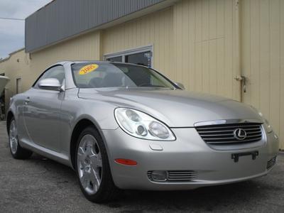 2005 Lexus SC 430  for sale VIN: JTHFN48Y950068395