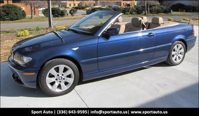 2006 BMW 325 Ci for sale VIN: WBABW33486PX85436