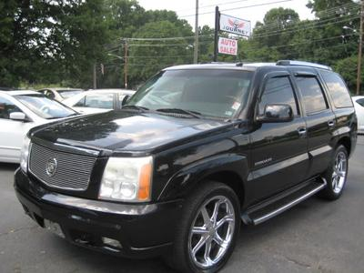 2003 Cadillac Escalade  for sale VIN: 1GYEC63T13R288160