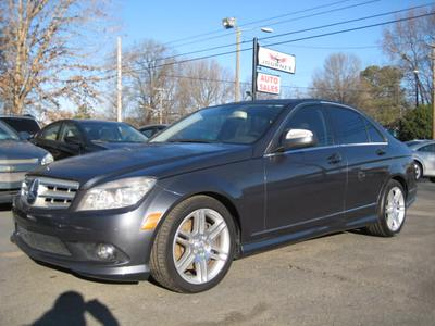 2009 Mercedes-Benz C-Class C 350 Sport for sale VIN: WDDGF56X89R062954