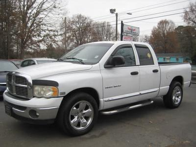 2004 Dodge Ram 1500 Laramie Quad Cab for sale VIN: 1D7HA18D04S771393