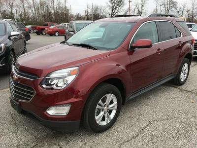 2016 Chevrolet Equinox LT for sale VIN: 2GNALCEK5G6303727