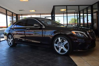2015 Mercedes-Benz S-Class S 63 AMG for sale VIN: WDDUG7JB8FA180648