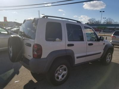 2005 Jeep Liberty Sport for sale VIN: 1J4GL48K15W610510