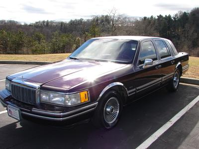 Lincoln Town Car 1992 for Sale in Asheville, NC
