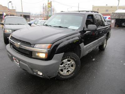 2002 Chevrolet Avalanche 1500 for sale VIN: 3GNEK13T92G272628