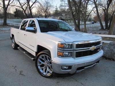 2014 Chevrolet Silverado 1500 LTZ for sale VIN: 3GCUKSEC4EG134247