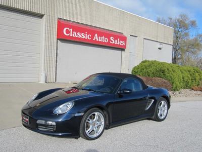 2006 Porsche Boxster  for sale VIN: WP0CA29826S710111