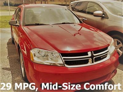 2013 Dodge Avenger SE for sale VIN: 1C3CDZAB8DN642968