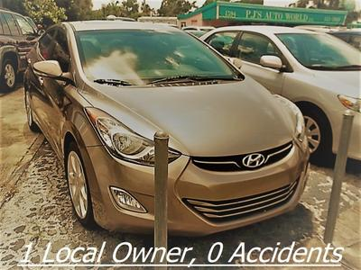 2012 Hyundai Elantra Limited for sale VIN: 5NPDH4AE9CH112010