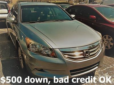 2011 Honda Accord EX-L for sale VIN: 1HGCP3F8XBA015689