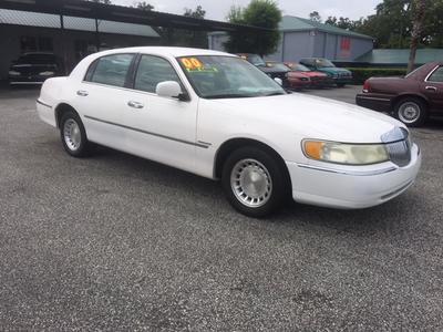 2000 Lincoln Town Car Executive for sale VIN: 1LNHM81W7YY860270