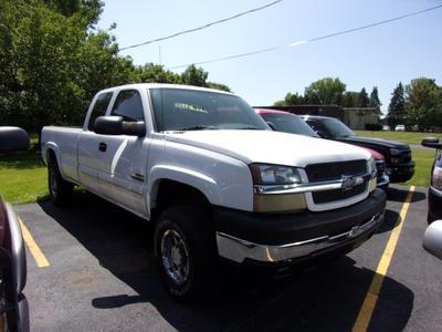 2004 Chevrolet Silverado 2500 LS Extended Cab for sale VIN: 1GCHK29214E270523