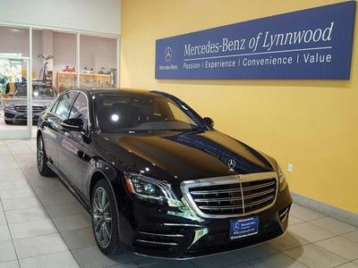 Mercedes benz s class for sale in seattle wa the car for Mercedes benz for sale seattle