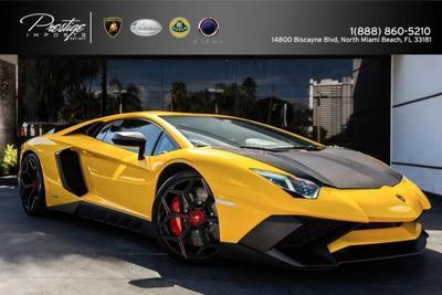 2016 Lamborghini Aventador For Sale In Miami Florida 186830100