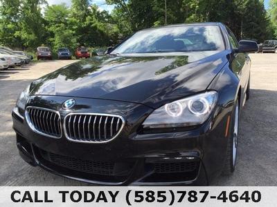 2014 BMW 640 Gran Coupe i xDrive for sale VIN: WBA6B8C50EDZ72558