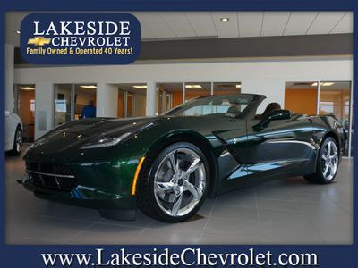 2014 Chevrolet Corvette Stingray Z51 for sale VIN: 1G1YM3D78E5400441