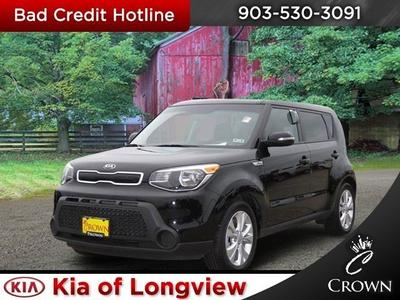 Captivating 2014 KIA Soul + For Sale VIN: KNDJP3A50E7010666