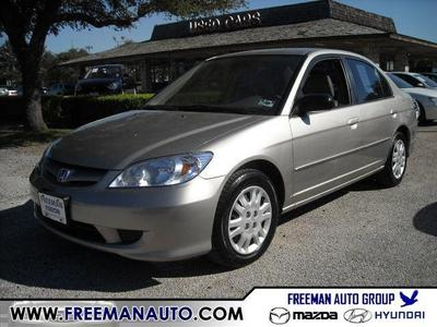 2005 Honda Civic LX for sale VIN: 2HGES16525H632348