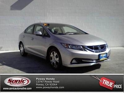2013 Honda Civic Hybrid Base for sale VIN: 19XFB4F31DE201996
