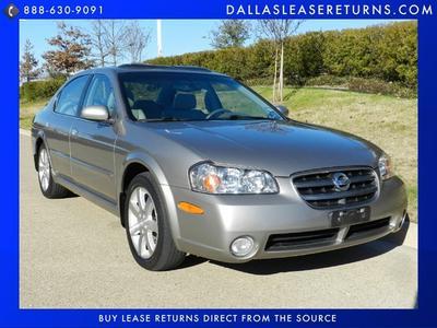 2002 Nissan Maxima GLE for sale VIN: JN1DA31A02T318907