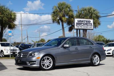 2012 Mercedes-Benz C-Class C 300 4MATIC Sport for sale VIN: WDDGF8BB6CR212644