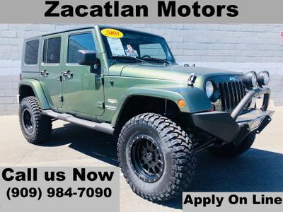 2008 Jeep Wrangler Unlimited Sahara for sale VIN: 1J4GA59188L653992