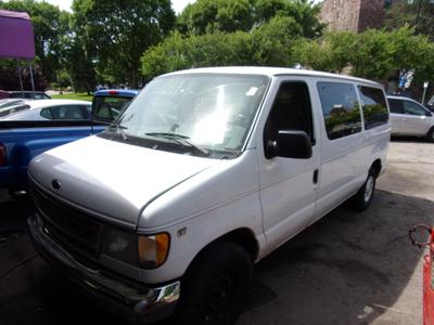 2001 Ford E150 XL Wagon for sale VIN: 1FMRE11L11HA90880