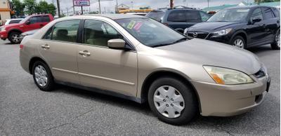 2003 Honda Accord LX for sale VIN: 1HGCM56393A051187