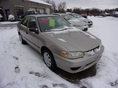 2001 Toyota Corolla CE for sale VIN: 2T1BR12E11C388599