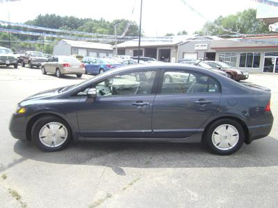 2008 Honda Civic Hybrid  for sale VIN: JHMFA36288S005365