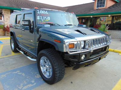 2006 Hummer H2  for sale VIN: 5GRGN23U96H114453