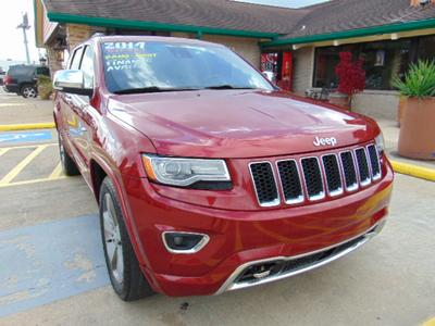 2014 Jeep Grand Cherokee Overland for sale VIN: 1C4RJECM8EC336436