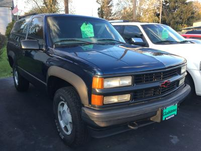 1999 Chevrolet Tahoe LT for sale VIN: 3GNEK18R7XG155571