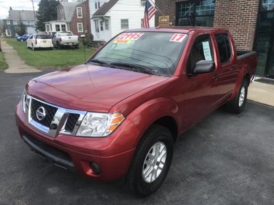2017 Nissan Frontier SV for sale VIN: 1N6AD0EV9HN707638