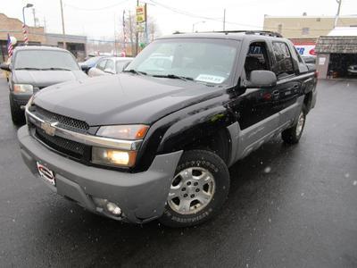 2002 Chevrolet Avalanche 1500 for sale VIN: 3GNEK13T92G272628