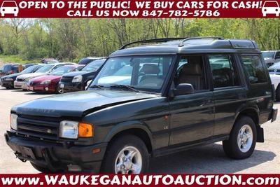 1998 Land Rover Discovery LE for sale VIN: SALJY1245WA778096