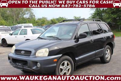 2002 Hyundai Santa Fe GLS for sale VIN: KM8SC73D02U137633