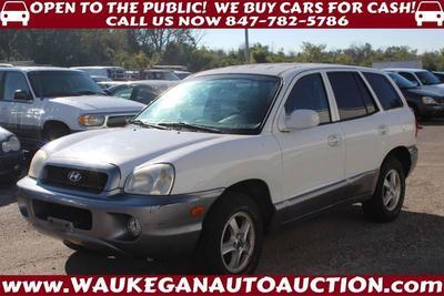 2004 Hyundai Santa Fe GLS for sale VIN: KM8SC73D44U661516