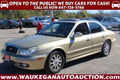 2002 Hyundai Sonata LX for sale VIN: KMHWF35H62A630834