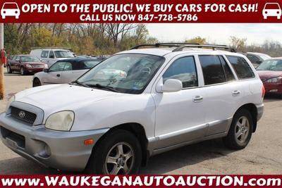 2002 Hyundai Santa Fe GLS for sale VIN: KM8SC13D02U314758
