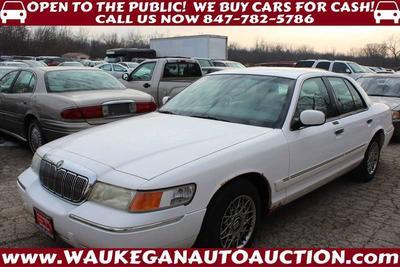 2001 Mercury Grand Marquis GS for sale VIN: 2MEFM74W01X713441