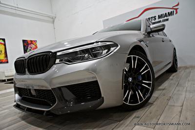 2018 BMW M5 Base for sale VIN: WBSJF0C5XJB282172