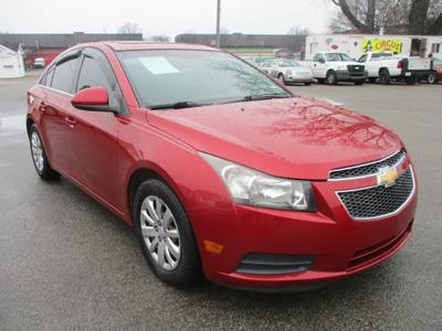 2011 Chevrolet Cruze LT for sale VIN: 1G1PF5S92B7154749