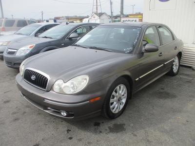 2003 Hyundai Sonata GLS for sale VIN: KMHWF35H83A842524