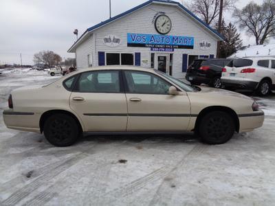 2004 Chevrolet Impala  for sale VIN: 2G1WF52E749427436