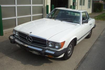 1985 Mercedes-Benz SL-Class 380SL for sale VIN: WDBBA45C2FA023295