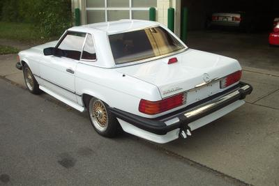 1987 Mercedes-Benz SL-Class 560SL for sale VIN: WDBBA48D5HA069372