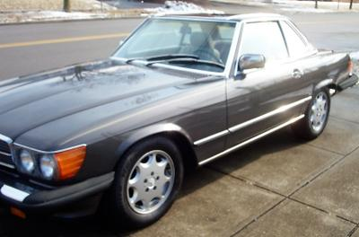 1986 Mercedes-Benz SL-Class 560SL for sale VIN: WDBBA48D9GA046868